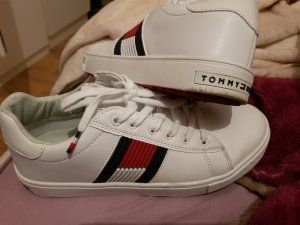 Tommy Hilfiger High top sneaker wit