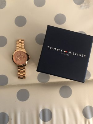 Tommy Hilfiger Watch With Metal Strap rose-gold-coloured