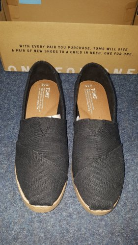 Toms Pantofel czarny