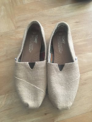 Toms Zapatos de marinero marrón arena