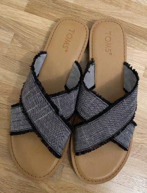 Toms Heel Pantolettes black-brown