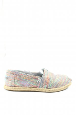 Toms Espadrille Sandals flecked casual look