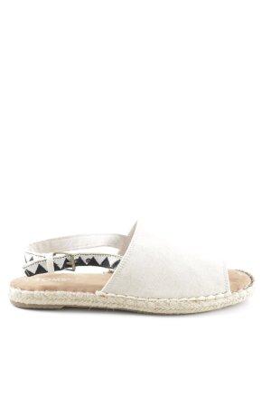 Toms Espadrilles-Sandalen wollweiß Elegant