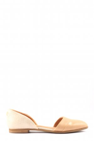 Toms faltbare Ballerinas creme-wollweiß Casual-Look