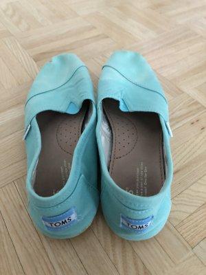 Toms Zapatos sin cordones turquesa