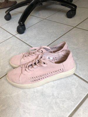 Toms - Pinke Leder Sneaker
