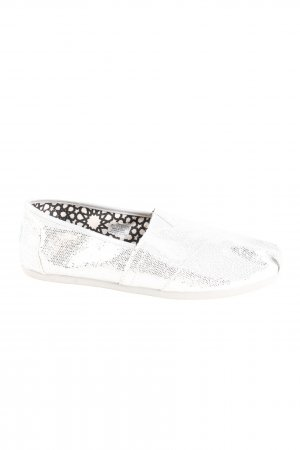 Toms Slip-on Shoes white casual look