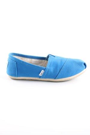Toms Schlüpfschuhe blau Casual Look