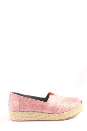 Toms Slip-on rose style décontracté