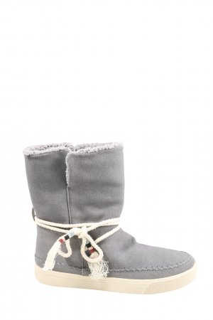 Toms Winter Boots light grey casual look