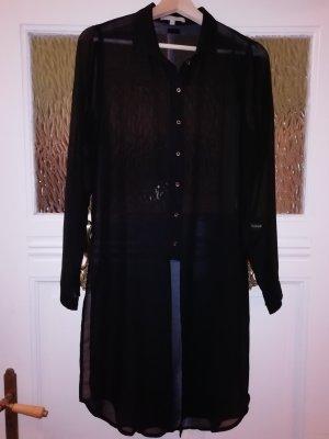 Tom Tailor Lange blouse zwart