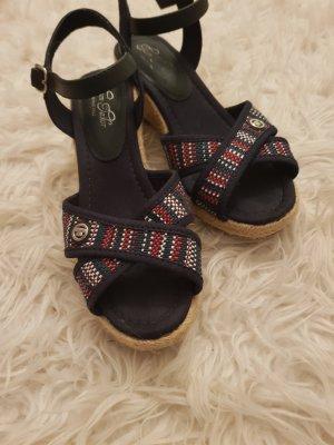Tom Tailor Plateauzool sandalen veelkleurig
