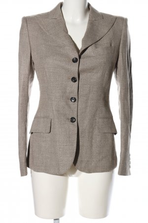Tonello Kurz-Blazer hellgrau Business-Look