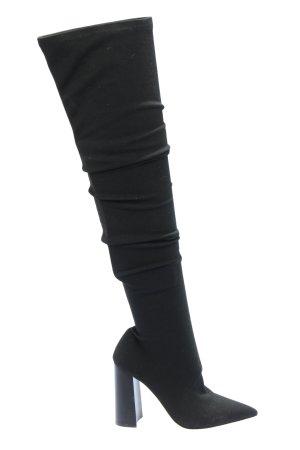Toni Bianco Buty nad kolano jasnoszary W stylu casual