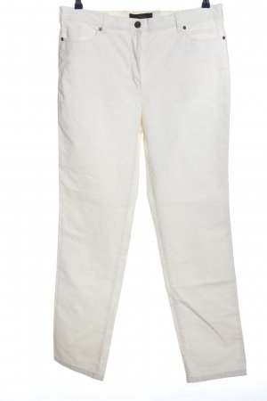 Toni Corduroy broek wit casual uitstraling