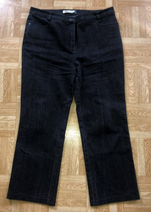 Toni Denim Jeans 42 kurz Short schwarzbraun w. Neu