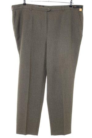 Toni Dress Pantalone a pieghe grigio chiaro puntinato stile professionale