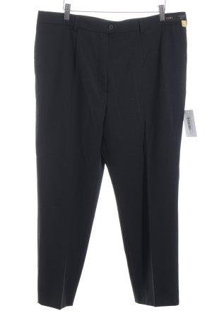 Toni Dress Bundfaltenhose schwarz Elegant