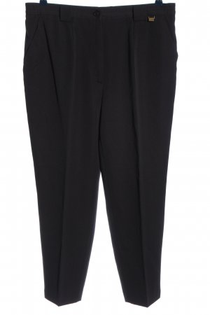 Toni Dress Pantalone Marlene nero puntinato stile casual