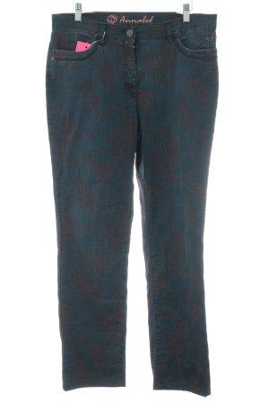 Toni Dress Slim Jeans blau-braun Casual-Look