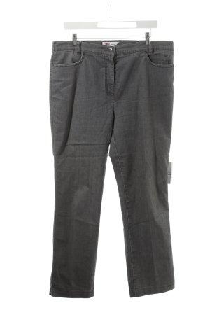 Toni Dress Stoffhose grau Jeans-Optik