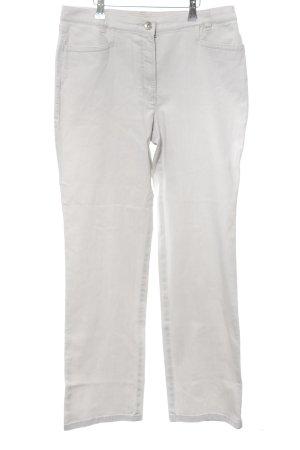 Toni Dress Straight-Leg Jeans weiß Casual-Look