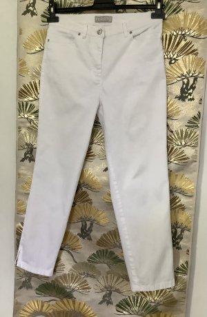 Toni Dress Spodnie z pięcioma kieszeniami biały Bawełna