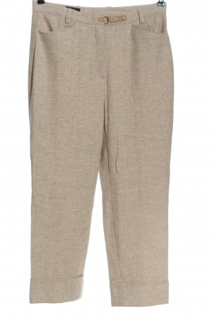 Toni Dress Woolen Trousers natural white flecked casual look