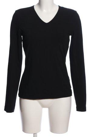Toni Gard Long Sleeve Blouse black casual look