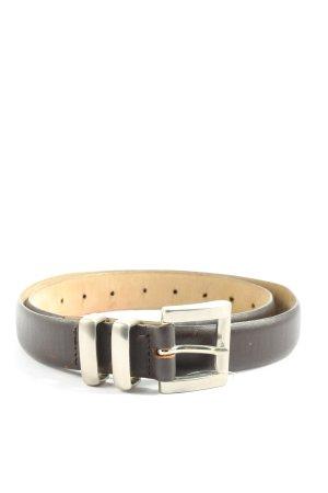 Toni Gard Cinturón de cuero de imitación negro estilo «business»