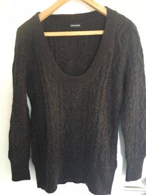 Toni Gard Knitted Sweater dark brown