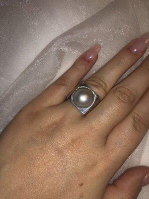 Toni Gard Silber Ring mit echter Perle