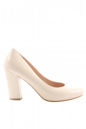 Toni Hochfront-Pumps wollweiß Business-Look