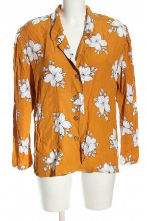 Toni Langarm-Bluse Allover-Druck Casual-Look