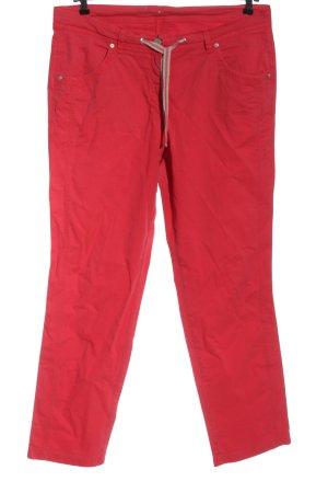 Toni Jeansy z prostymi nogawkami czerwony W stylu casual