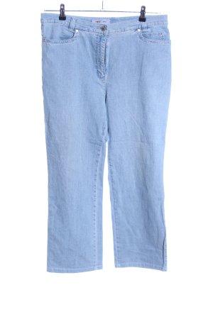 Toni Straight-Leg Jeans blau Casual-Look