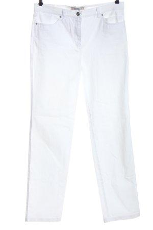 Toni Jeansy z prostymi nogawkami biały W stylu casual