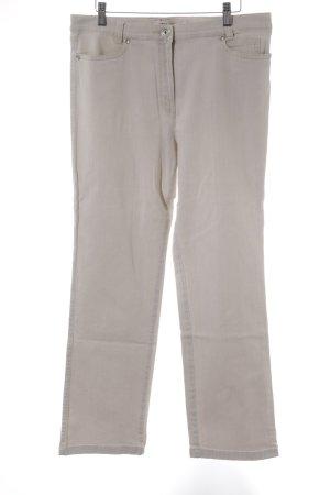 Toni Straight-Leg Jeans creme Casual-Look