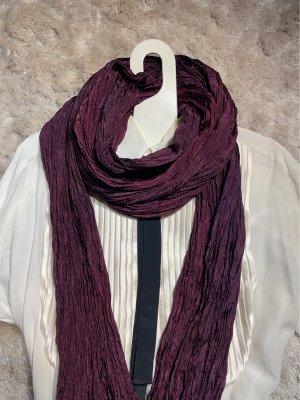 Tonia Marie Rosée Écharpe en soie rouge mûre-violet soie