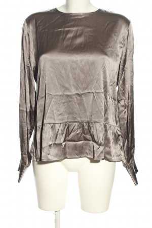 tonno & panna Splendor Blouse silver-colored business style