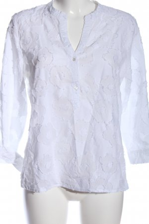 tonno & panna Hemd-Bluse weiß Casual-Look