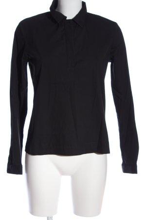 tonno & panna Langarm-Bluse schwarz Casual-Look