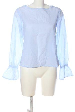 tonno & panna Langarm-Bluse blau Casual-Look