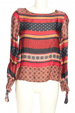 tonno & panna Schlupf-Bluse Mustermix Casual-Look