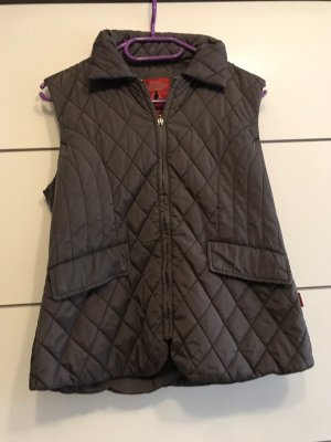Tony Brown Quilted Gilet grey