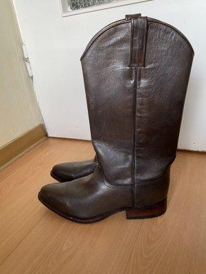 Tony Mora Western Boots dark brown