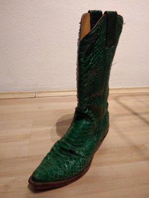Tony Mora Western Boots green