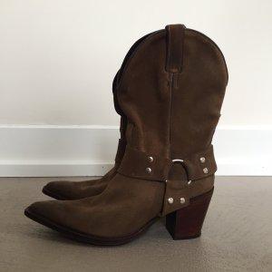Tony Mora Botas estilo vaquero marrón Cuero