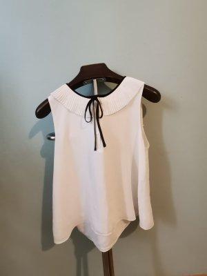 Zara Top linea A bianco-nero