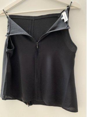 Costume National Débardeur à bretelles noir